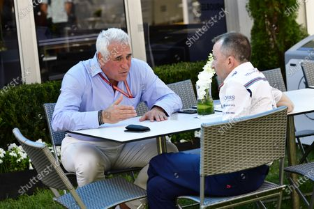 Lawrence Stroll (CDN) and Paddy Lowe (GBR) Williams Shareholder and Technical Director