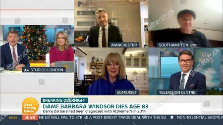Editorial photo of 'Good Morning Britain' TV Show, London, UK - 11 Dec 2020