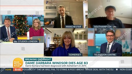 Editorial picture of 'Good Morning Britain' TV Show, London, UK - 11 Dec 2020