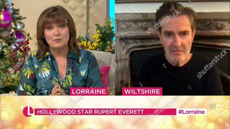 Lorraine Kelly, Rupert Everett
