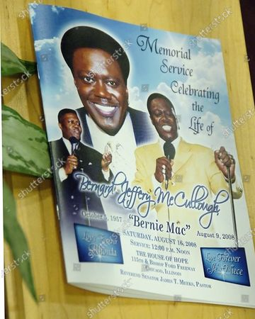 Thousands of people, including comedians Steve Harvey and Cedric the Entertainer gathered to pay their respects to comedian Bernie Mac who died of complications of pnemonia, during his funeral at the House of Hope in Chicago, Il.