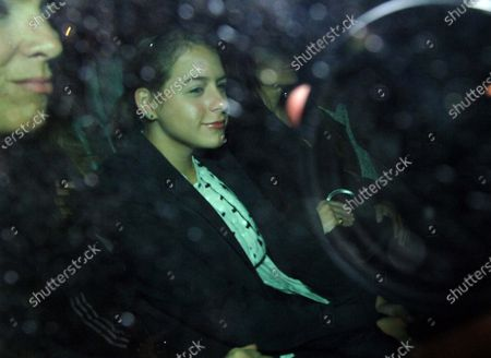 Isabella Cruise and brother Conner head to dinner as they leave the Hassler Hotel in Rome, Italy 3 days before dad Tom Cruise is due to marry fiancee Katie Holmes