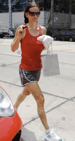 Editorial image of Courtney Cox Arquette leaves a day spa in West Hollywood, Ca, California, USA - 19 Jun 2008