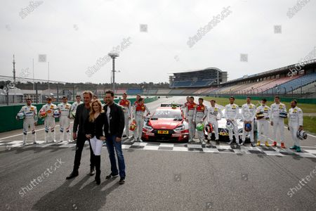 All drivers 2018 with Andrea Kaiser, Edgar Mielke, Matthias Killing, Sat-1 TV