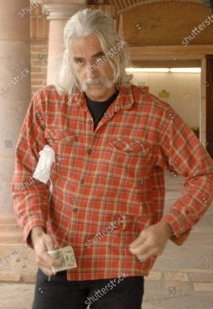 Exclusive - Actor Sam Elliot who can soon be seen in theatres in the film The Golden Compas heads to his car while out and about in Malibu, Ca