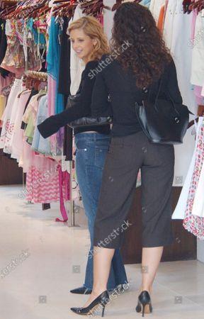 Editorial photo of EXCLUSIVE: Sarah Michelle Gellar shopping in Beverly Hills, Ca, California, USA - 23 Mar 2004