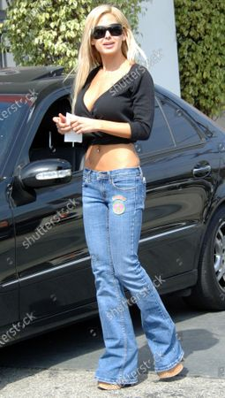 Editorial picture of EXCLUSIVE: Shauna Sands in Beverly Hills, Ca, California, USA - 15 May 2006