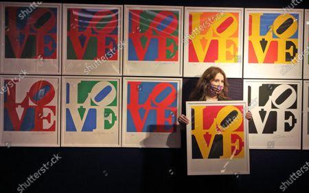 Editorial image of Preview of Bonhams' Prints & Multiples sale, London, UK - 10 Dec 2020