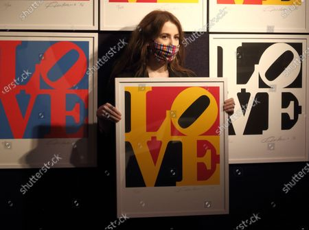 Editorial photo of Preview of Bonhams' Prints & Multiples sale, London, UK - 10 Dec 2020