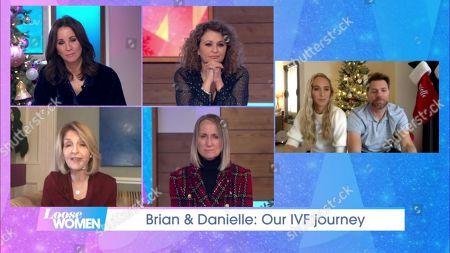 Christine Lampard, Nadia Sawalha, Kaye Adams, Carol McGiffin, Danielle Parkinson, Brian McFadden