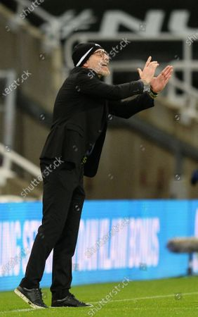 Slaven Bilic manager of West Bromwich Albion