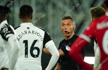 Stock Image of Referee Andre Marriner