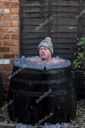 Editorial photo of Outdoor swimmer John Myatt, Gloucestershire, UK - 08 Dec 2020