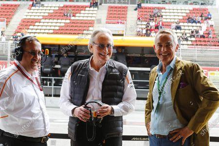 Martin Whitmarsh is reunited with Mansour Ojjeh, co-owner, McLaren.