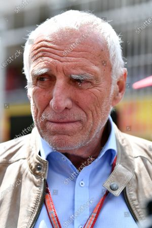 Dietrich Mateschitz (AUT) CEO and Founder of Red Bull on the grid