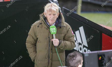 Stock Image of Celtic v Kilmarnockformer manager gordon strachan