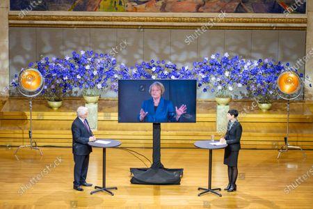 Editorial photo of Nobel Peace Prize Forum 2020, Oslo, Norway - 11 Dec 2020