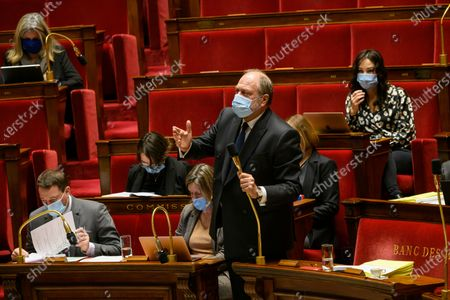 Editorial photo of The National Assembly examines the juvenile justice code, Paris, France - 11 Dec 2020
