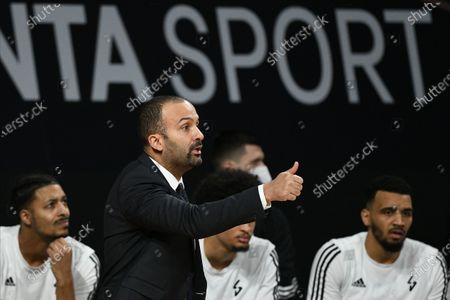 Stock Picture of Villeurbanne's head coach TJ Parker in action during the Euroleague basketball match between Bayern Munich and Asvel Villeurbanne in Munich, Germany, 11 December 2020.