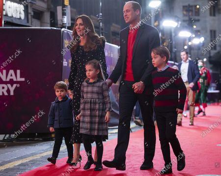 Editorial photo of Royals, London, United Kingdom - 11 Dec 2020