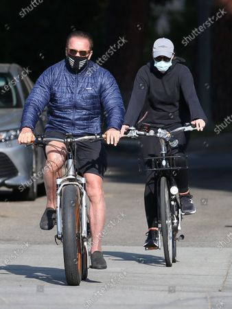 Editorial image of Arnold Schwarzenegger and Christina Schwarzenegger out and about, Los Angeles, California, USA - 11 Dec 2020