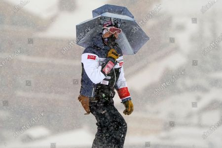 Editorial image of Alpine Skiing World Cup, Courchevel, France - 12 Dec 2020