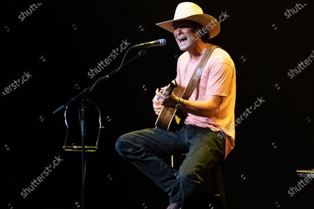Singer-songwriter Jarrod Morris performs during a limited capacity event at ACL Live