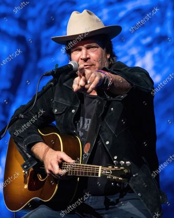 Singer-songwriter Jack Ingram performs during a limited capacity event at ACL Live