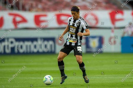 Stock Photo of Keisuke Honda of Botafogo; Beira-Rio Stadium, Porto Alegre, Brazil; Brazilian Serie A, Internacional versus Botafogo.