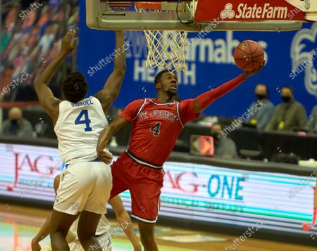 Editorial image of NCAA Basketball St John's vs Seton Hall, Newark, USA - 12 Dec 2020