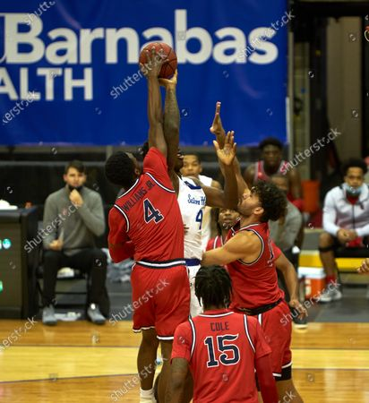 Editorial photo of NCAA Basketball St John's vs Seton Hall, Newark, USA - 12 Dec 2020