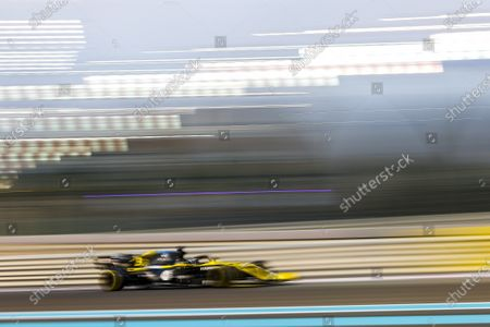 Daniel Ricciardo, Renault R.S.20 during the 2020 Formula One Abu Dhabi Grand Prix