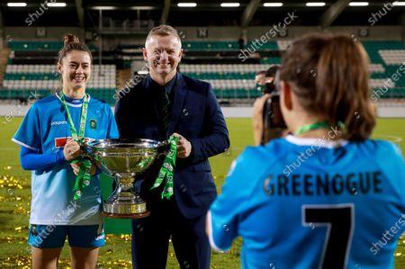 Editorial picture of FAI Women's Senior Cup Final, Tallaght Stadium, Co. Dublin - 12 Dec 2020
