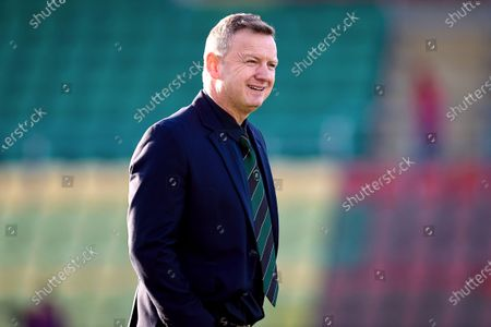 Cork City vs Peamount United. Peamount United manager James O'Callaghan