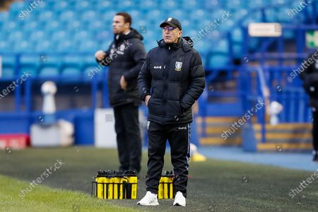 Sheffield Wednesday FC Manager Tony Pulis during the EFL Sky Bet Championship match between Sheffield Wednesday and Barnsley at Hillsborough, Sheffield