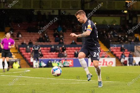 Jason Demetriou, Southend United in action during Southend United vs Scunthorpe United, Sky Bet EFL League 2 Football at Roots Hall on 12th December 2020