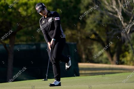 Editorial photo of US Womens Open Golf, Houston, United States - 12 Dec 2020