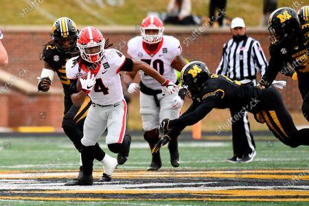 Editorial photo of Georgia Missouri Football, Columbia, United States - 12 Dec 2020