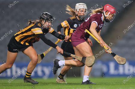 Galway vs Kilkenny. Kilkenny's Katie Nolan scores her sides first goal