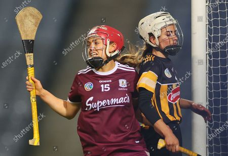 Galway vs Kilkenny. Kilkenny's Katie Nolan celebrates scoring her sides first goal