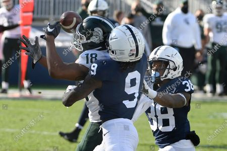 Editorial image of Michigan St Penn St Football, State College, United States - 12 Dec 2020