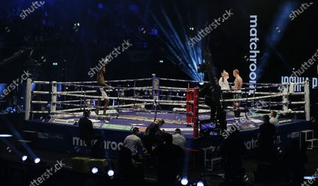Editorial image of Heavyweight Boxing Joshua vs Pulev, London, United Kingdom - 12 Dec 2020