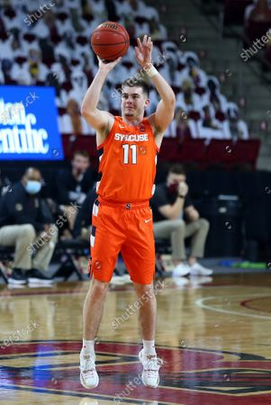 Editorial picture of NCAA Basketball Syracuse vs Boston College, Chestnut Hill, USA - 12 Dec 2020