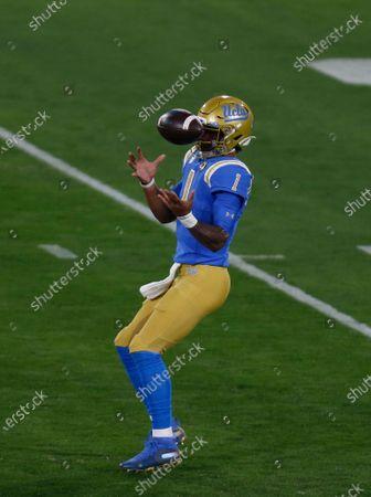 Editorial picture of NCAA Football USC vs UCLA, Pasadena, USA - 12 Dec 2020
