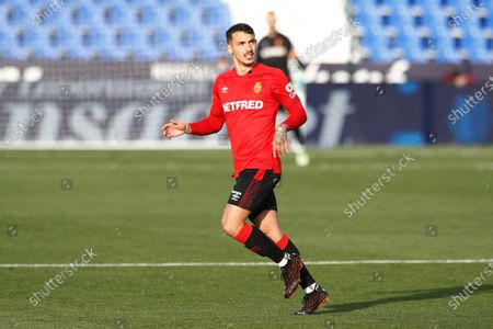 "Antonio Sanchez (Mallorca) - Football / Soccer : Spanish ""La Liga Smartbank"" match between CD Leganes 0-1 RCD Mallorca at the Estadio Municipal de Butarque in Leganes, Spain."