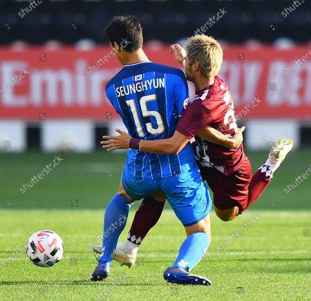 Editorial image of Ulsan Hyundai FC vs Vissel Kobe, Doha, Qatar - 13 Dec 2020