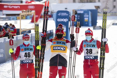 Editorial photo of FIS Cross Country Skiing World Cup in Davos, Switzerland - 13 Dec 2020