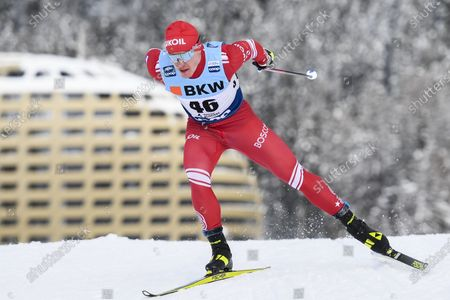 Editorial picture of FIS Cross Country Skiing World Cup in Davos, Switzerland - 13 Dec 2020