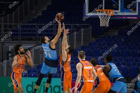 Alessandro Gentile during Valencia Basket Club victory over Movistar Estudiantes (81 - 86) in Liga Endesa regular season game (day 14) celebrated in Madrid (Spain) at Wizink Center. December 13th 2020.