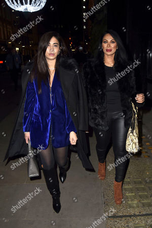 Editorial photo of Courtenay Semal And Jeanine Nerissa Sothcott out and about, London, UK - 13 Dec 2020